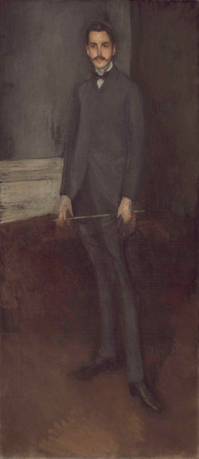 Art prints of George W. Vanderbilt by James Abbott McNeill Whistler