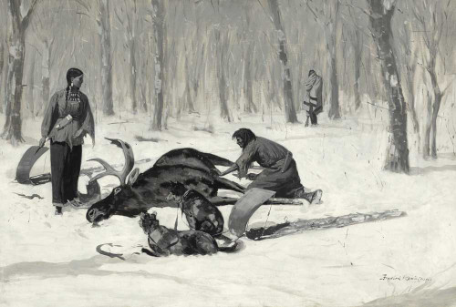 Art prints of The Passion of Ah-We-Ah by Frederic Remington