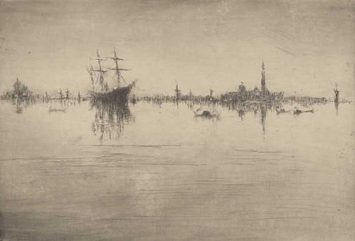 Art prints of Nocturne by James Abbott McNeill Whistler