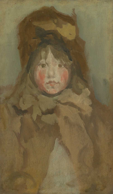 Art prints of Portrait of a Child by James Abbott McNeill Whistler