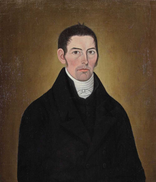 Art prints of New England Gentleman by John Brewster Jr.