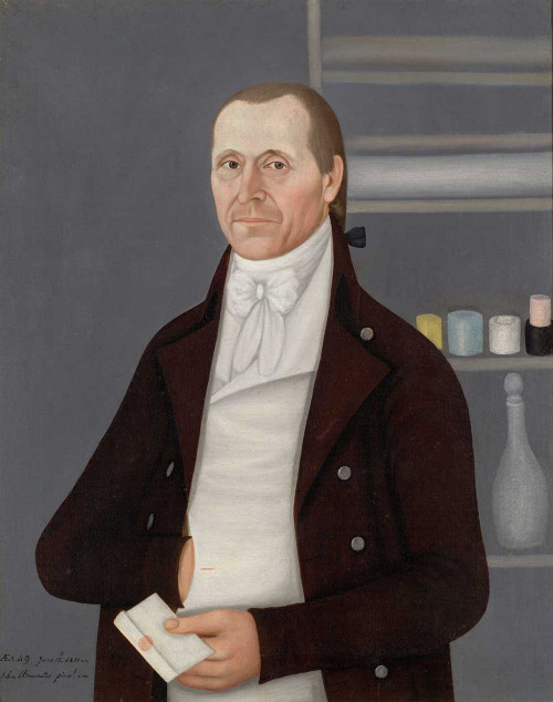 Art prints of Portrait of a Gentleman by John Brewster Jr.