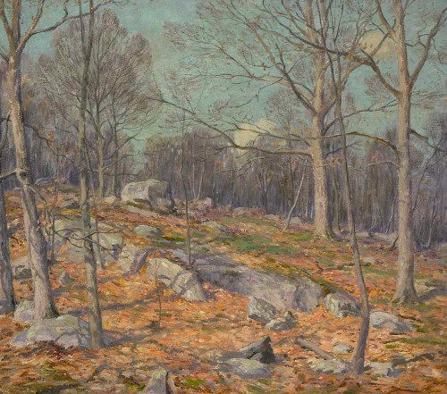 Art prints of Late Autumn Landscape by Wilson Henry Irvine
