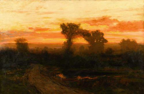 Art prints of Colorado Sunset by Charles Partridge Adams