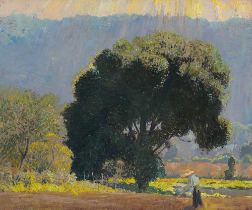 Art prints of In the Valley by Daniel Garber