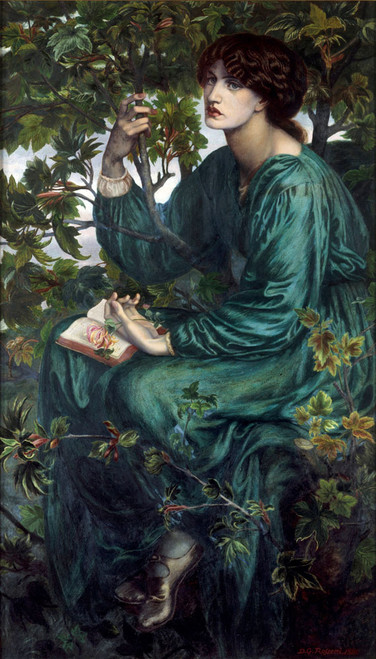 Art prints of The Day Dream by Dante Gabriel Rossetti