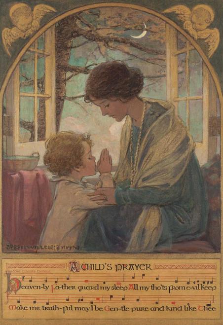 Art prints of A Child's Prayer by Jessie Willcox Smith