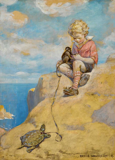 Art Prints Of Bob King Of The Fortunate Isle By Jessie Willcox Smith