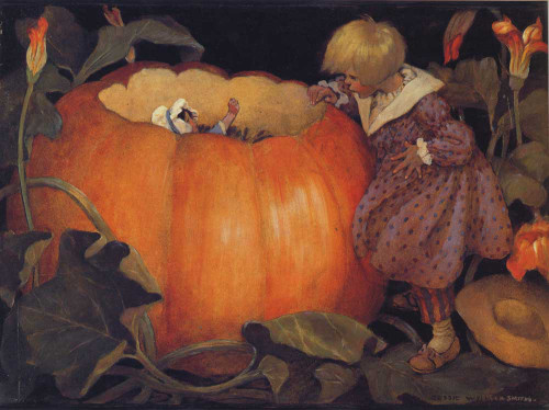 Art prints of Peter, Peter Pumpkin Eater by Jessie Willcox Smith