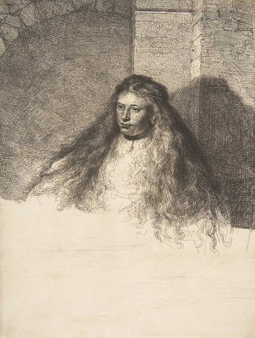 Art prints of The Great Jewish Bride by Rembrandt van Rijn