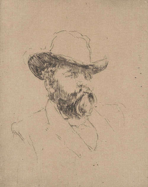Art prints of Robert Barr by James Abbott McNeill Whistler