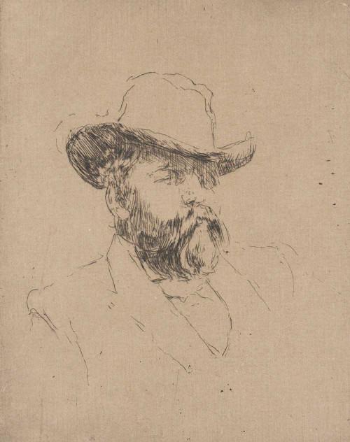 Art prints of Robert Barr by James Abbott McNeill Whistler