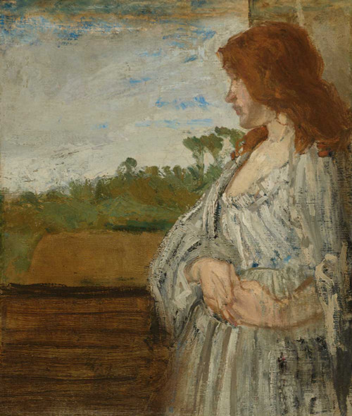 Art prints of A White Note by James Abbott McNeill Whistler