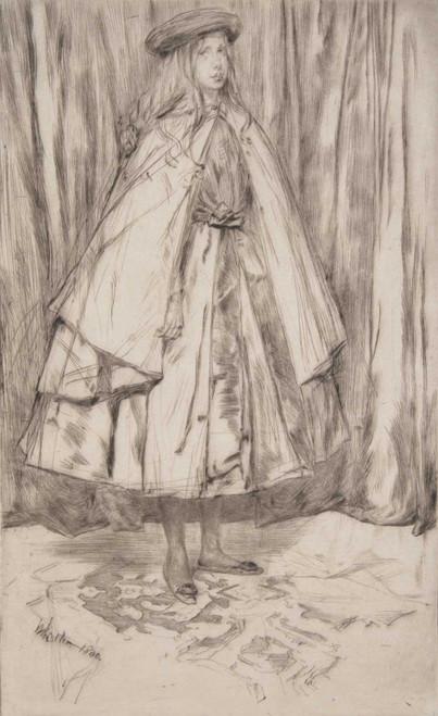 Art prints of Annie Haden by James Abbott McNeill Whistler