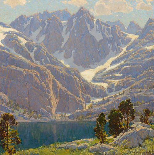 Art prints of Solitude's Enchantment by Edgar Payne