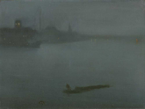 Art prints of Nocturne in Blue and Silver by James Abbott McNeill Whistler