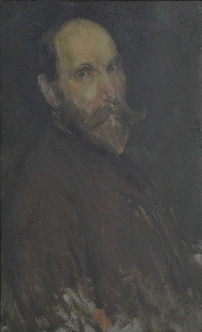 Art prints of Portrait of Charles Land Freer by James Abbott McNeill Whistler