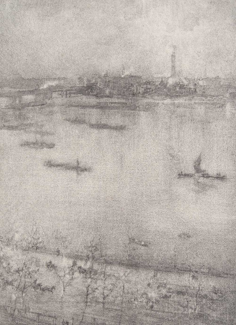 Art prints of The Thames by James Abbott McNeill Whistler