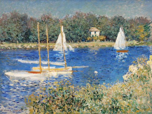 Art prints of The Basin at Argenteuil II by Claude Monet