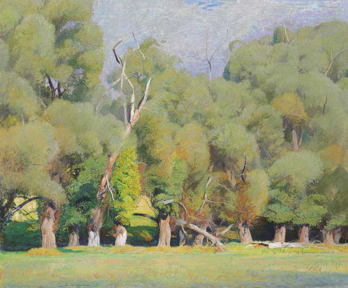 Art prints of Willows by Daniel Garber