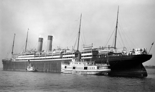 Art prints of R.M.S. Adriatic Passenger Ship of the White Star Line