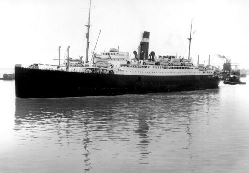Art prints of S.S. Athenia Passenger Ship of the Anchor-Donaldson Line