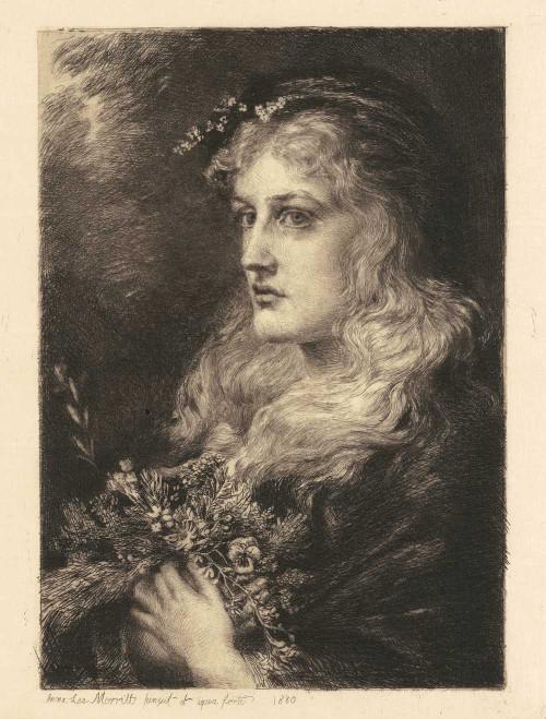 Art prints of Ophelia by Anna Lea Merritt