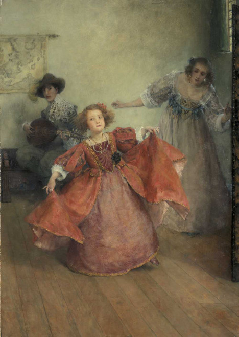 Art prints of Airs and Graces by Laura Theresa Alma-Tadema