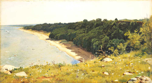 Art prints of By the Sea by Ivan Shishkin