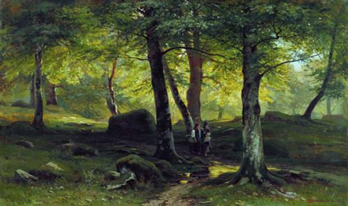 Art prints of In the Grove by Ivan Shishkin