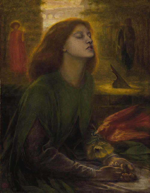 Art prints of Beata Beatrix by Dante Gabriel Rossetti