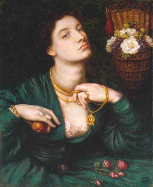 Art prints of Monna Pomona by Dante Gabriel Rossetti