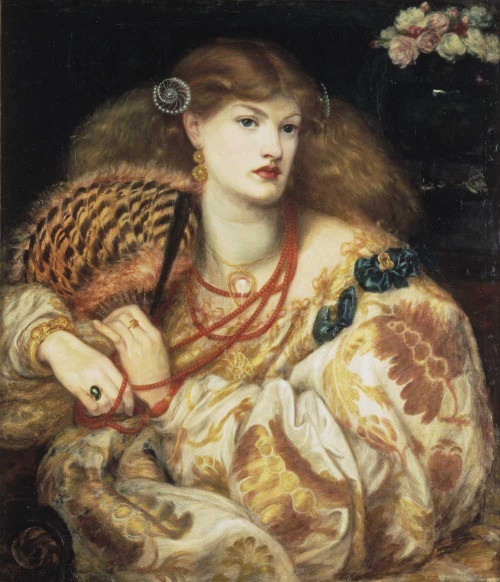 Art prints of Monna Vanna by Dante Gabriel Rossetti