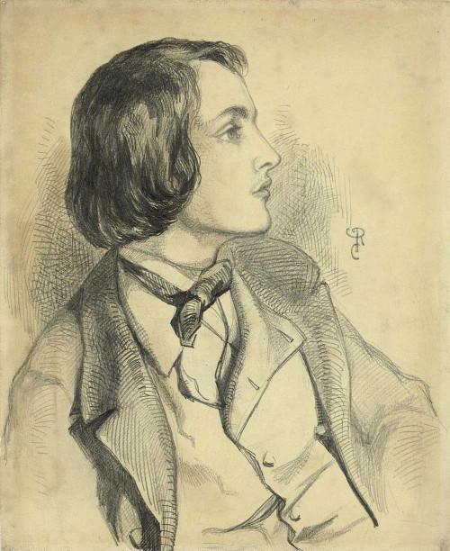 Art prints of William Michael Rossetti, 1846 by Dante Gabriel Rossetti