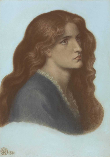 Art prints of Portrait of Edith Williams by Dante Gabriel Rossetti