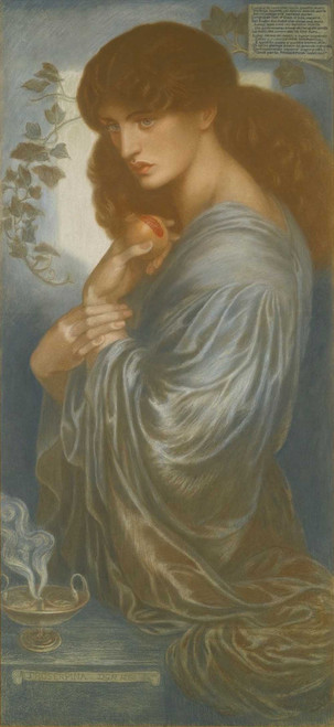Art prints of Prosperpina by Dante Gabriel Rossetti