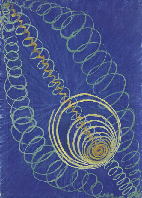 Art prints of Primordial Chaos, No. 16 by Hilma af Klint