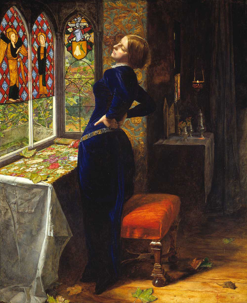 Art prints of Mariana by John Everett Millais