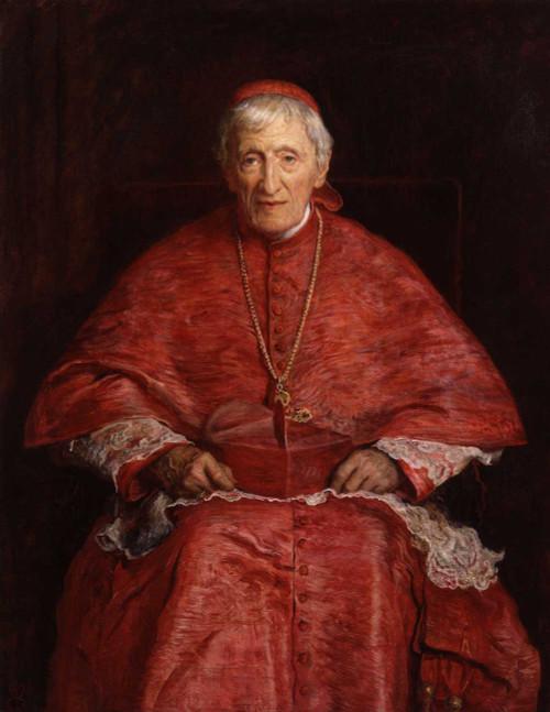 Art prints of John Henry Newman by John Everett Millais