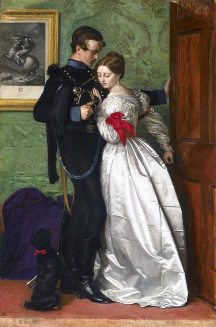 Art prints of The Black Brunswicker by John Everett Millais