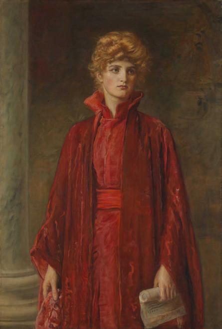 Art prints of Portia by John Everett Millais
