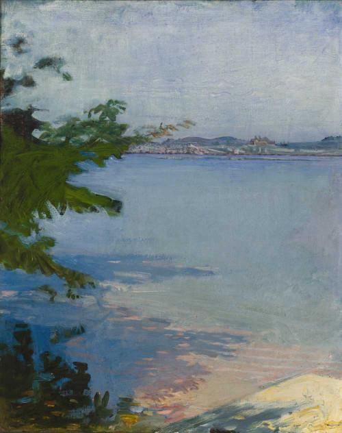 Art prints of Dublin Pond, New Hampshire by Abbott H. Thayer