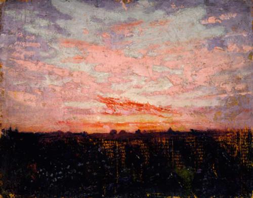 Art prints of Sunrise or Sunset by Abbott H. Thayer