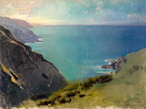 Giclee prints of Cornish Headlands by Abbott H. Thayer