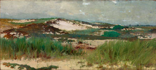 Giclee prints of Nantucket Sand Dune by Abbott H. Thayer