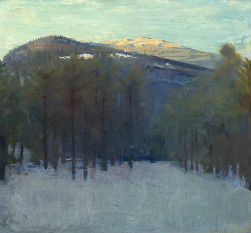 Giclee prints of Mount Monadnock by Abbott H. Thayer