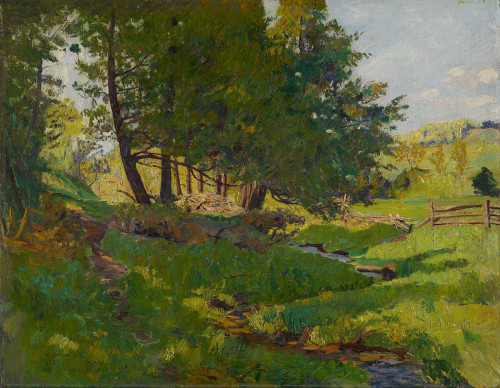 Giclee prints of Summer Near Beaupre by Maurice Cullen