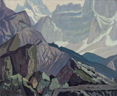 Giclee prints of Goat Range, Rocky Mountains, 1932