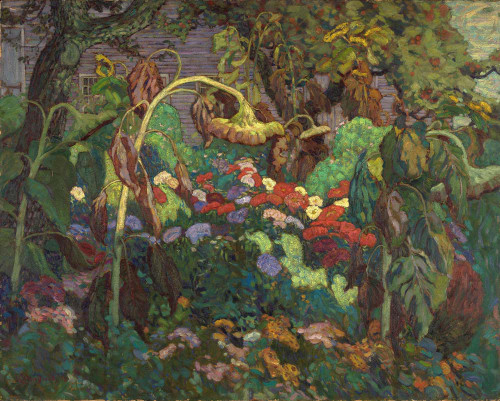 Giclee prints of The Tangled Garden by J. E. H. MacDonald