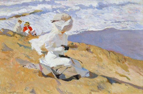 Giclee prints of Capturing the Moment or Instantanea Biarritz by Joaquin Sorolla y Bastida